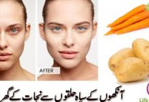 Get rid of Under Eye Circles With these Natural Remedies
