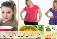 Soup for Weight Loss Naturally and Fast At Home to Get Slim
