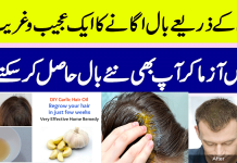 Homemade Garlic Hair Shampoo for Hair Fall & Long and Thick Hair